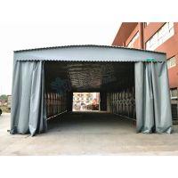 徐汇区工业大型仓库活动防雨棚定做_布户外电动推拉帐篷价格