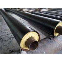 渤洋专供碳钢钢套钢玻璃棉蒸汽复合保温钢管