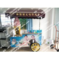 广州专业无电冰淇淋售卖车厂家 硬冰小冰激凌商机车 量多赠送原料