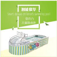 四川金妙奇婴儿游泳设备之亚克力儿童游泳池戏水池漂流池