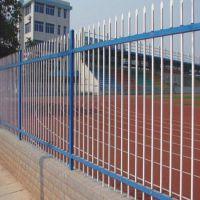 学校钢管隔离栏 插拔式隔离栏 铁艺围栏 批发大量现货