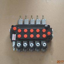 SKBTFLUID牌ZT-L12E-5OT带拉杆系列随车吊液压多路阀
