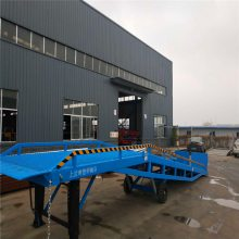 扬州手动电动集装箱登车桥,液压叉车装卸货平台坦诺生产厂家
