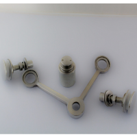 耀恒 304#不锈钢点支式幕墙配件/玻璃抓/驳接爪 200型90度双爪(直新)