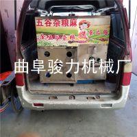 新型流动食品膨化机 五谷杂粮玉米花机 膨化机 骏力促销