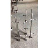 广东大型厂家供应不锈钢扁钢实心立柱 桥梁工程立柱 .304工程不锈钢立柱