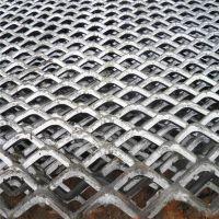 建筑脚踏网 平台钢板网 红色卷网生产厂家【至尚】菱型