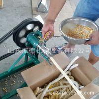 40型玉米大米膨化机 五谷杂粮麻花机 新款绿豆香酥膨化机振德生产