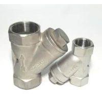 不锈钢Y型直流式焊接截止阀J65Y-320
