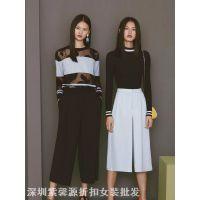 供应时尚高端品牌折扣女装尾货价低利润更高