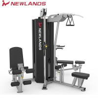 NEWLANDS商用三人站综合训练器角落放置设计企业单位家庭健身房器材NS303
