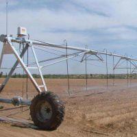 大型圆盘时针式农田喷灌机 节水型牧场用喷灌设备