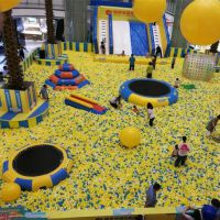 儿童百万海洋球透明海洋球幼儿园球池广场玩球设备
