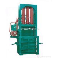 供应宇哲机械小型立式液压打包机