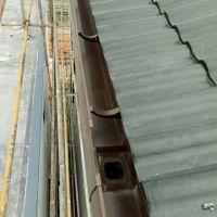 南京塑料pvc天沟落水槽排水系统