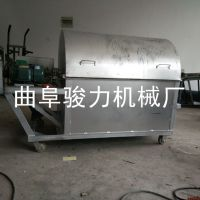 生产零售 煤气两用多功能炒货机 开心果滚筒炒货机 骏力 环保电加热瓜子炒锅