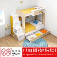 富滋雅 板式子母床 简约现代子母床
