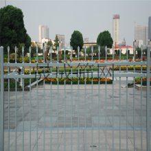 佛山围墙栅栏 锌钢围栏 pvc塑钢护栏 隔离栅广州厂家喷塑护栏