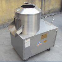 澜海牌土豆磨砂清洗去皮机性能优越 全自动鲜土豆去皮机厂家直销