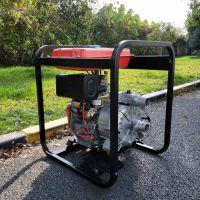 大油箱4寸柴油机排污泵