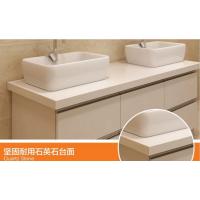 石英石卫浴台面、人造石英石卫浴洗手台面、人造石英石卫浴台面