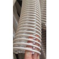 供应PU加防静电铜线螺旋管 PU塑筋平滑管 通风管 耐磨塑筋管 下料管