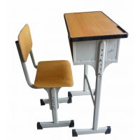 河北文学士课桌椅生产定制厂家
