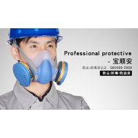 过滤式防毒面具丨宝顺安自吸过滤式防有机气体防粉尘防毒面具