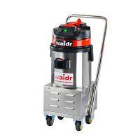 车间仓库专用小型移动式吸尘器威德尔不锈钢电瓶式吸尘器