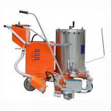 天德立RRHX热熔道路划线机 热熔釜加热式划线机 15-40公分宽马路标线机现货