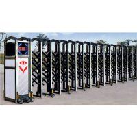 天津铝合金伸缩门安装,无轨伸缩门订做厂家