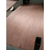 供应二次砂光双面冰糖果面皮环保胶水16厘七分条仿实木围边胶合板出口菲律宾