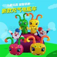 郑州易欣供应充气电瓶车外罩新款儿童电瓶充气车广场动物电动玩具车