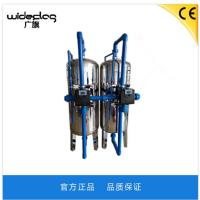 厂家直销江苏广旗牌机械过滤器 南京市去除污水泥沙不锈钢机械过滤器