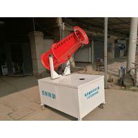 风送式喷雾机在工地的应用