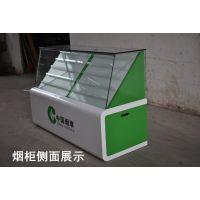 临汾厂家定制烤漆超市烟柜 钢化玻璃烟草柜 木质板材烟酒展示柜