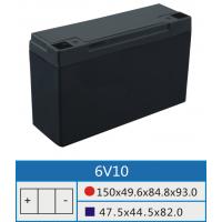 6V10AH专用铅酸蓄电池壳深圳市高能可五金塑胶