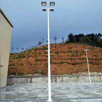 梅州篮球场灯柱购买 1个篮球场安装4根灯杆报价 批发球场LED灯