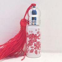 化妆瓶玻璃瓶花纸 信拓定制加工陶瓷瓶烫金水贴纸