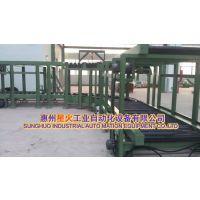 浇注铸造行业专用重型滚筒输送机流水线