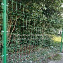 市区绿化带围栏@苏州三角折弯护栏网@园林防护网