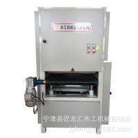 木工异形定尺砂光机全自动平面打磨机400-800定尺宽带砂光机价格m