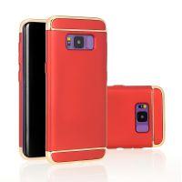 凯偲 三星S8电镀手机壳 全包PC三节套保护壳防摔三合一手机套