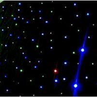 HM-L406RGBW LED红蓝白绿星空幕布 舞台装饰幕