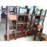 老船木家具实木博古架个性古玩架置物架茶叶架展示架多宝阁书架