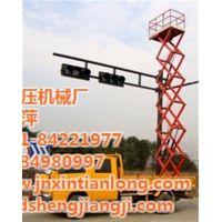 电动升降平台、济南天龙液压、8米升降平台