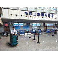 机场大厅为什么在用地面洗地机做保洁?合美