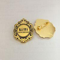 兰州纯银纪念胸章设计制作银川高级珐琅徽章定制厂家