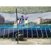 支架水池支架游泳池水上乐园加工上门安装