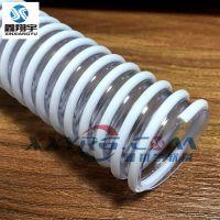 鑫翔宇XY-0214pvc软管,PVC透明塑筋增强软管,医疗设备穿电线螺纹管